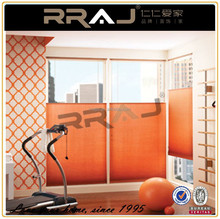 Custom color woven paper sunscreen home curtain