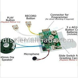 Factory suppling voice record and playback chip