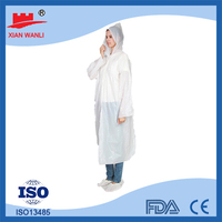Disposable plastic raincoats, rain poncho pattern, raincoats