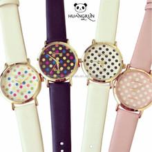 Huangrun fashion leather watches wrist band 2014