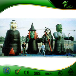 Horrific inflatable vampire,inflatable Halloween witch,giant inflatable blue man for Halloween advertising