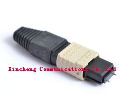 LC / SC / MPO duplex fiber optic connector adapter for fiber patch cord