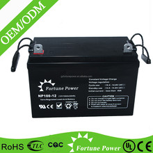 12V 100AH Deep Cycle Battery AGM Battery For Solar & Wind System