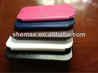 Hot Selling Cellphone Parts Protection Shell, Premium PU Leather Case Cover For Samsung Galaxy S4 i9500