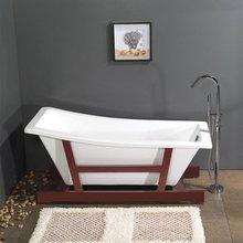 Acrylic free standing whirlpool bathtub ESYY886