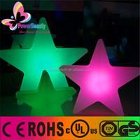 star shape led christmas lights,outdoor christmas star lights,Crystal led Christmas star