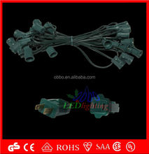 C7,C9 lamp cord with socket/led Strawberry replaceable light bulb