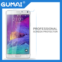 99% high light transparent tempered glass screen protector for samsung galaxy note 4