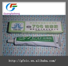 TianMu706 Pollution-free glue Natural Cure Silicone Sealant Silicone Rubber Adhesive Sealant