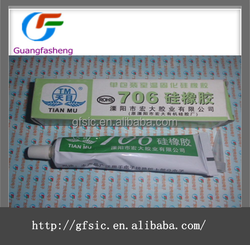 TianMu706 Pollution-free glue Natural Cure Silicone Sealant Silicone Rubber Adhesive Sealant