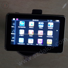 4.3 inch Mini slim car gps navigation with different countries map for Russian market