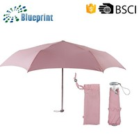 Gift Outdoor Ladies Pocket Size Cheap Folding Umbrella For Promotion