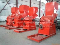 Metal crusher for recycling tins,plastic,computer hard disk