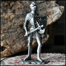 Handpainted medieval novelty Knight Ornament