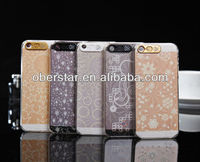 For iPhone 5/5s Mobile Phone Lighting Hard Case Phone Shell Clear Case