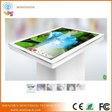 """42"""" High quality USB capacitive touch screen foil film, interactive multi touch foil table kiosk(WVT-TTK)"""