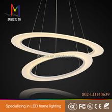 Circle pendant led ring light