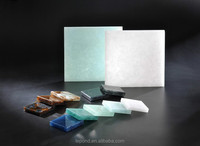15mm/20mm/30mm decorative jade glass block with different color washbasin