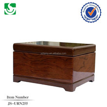 Custom solid cherry wooden wholesale standard urns