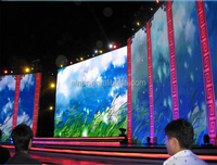 China best popular stage background P7.62 HD indoor full color led video wall