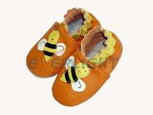 Zapatos de bebé, suela suave bebé zapatos de cuero, zapatilla para bebés