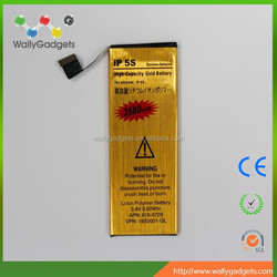 factory wholesale standard design 2680mah Li-ion lithium battery for iPh-one 5S