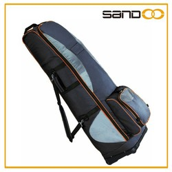 Sandoo hot sale popular fancy nylon golf bag with wheels