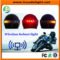 New design safety helmet light LED Motorcycle Wireless Helmet Light With Brake And Turn Signal