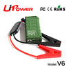 Manufacturer of 12000mAh 12 volt lithium ion battery car jump starter power bank Type car booster with LED light generator