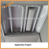 u type replacement led tube, t8 18w g13 Frosted U shaped led tube light