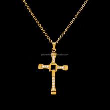 Top high quality Cross shape Necklace same as Furious design