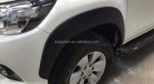 2015 toyota hilux revo wheel trims fender flare 4x4 car accessories