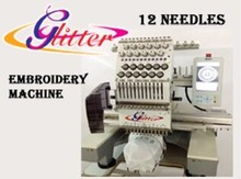 Commercial automatic computer sewing embroidery machine