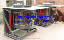 hot sale!! 1.25T steel shell industrial electrical melting induction furnace