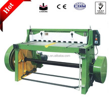 Manual sheet metal electric cutting machine with CE/ISO
