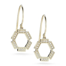 Gold filled jewelry drop earring fashion accessories wholesale