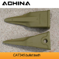 loader excavator bucket teeth for CAT345 from xuzhou