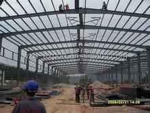 Construction materials perfect design rock wool panels light Steel Structure Building warehouse