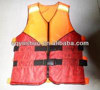 Vest type water sports life jacket