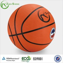 Zhensheng Rubber Basketball Ball Official Size 7 Outdoor Indoor Youth Students