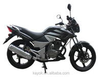 Chinese Motorcycles Gas/Diesel Moped With Pedals Motorcycles For Sale KM150-3