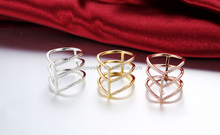 2015 silver 925 gold plated jewelry fashion ring