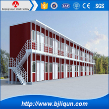 2015 Well-designed Modern Modular Luxury Prefabricated Steel Frame House