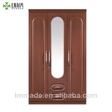 Mdf armario alcoba, clásico armario, armario de madera