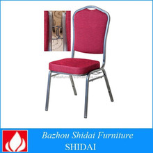 Comfortable cushion popular hotel room used stackable chair
