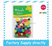 Colorful Wiggly Plastic Craft Animal Eyes - Eyes for toys, fashion accessory