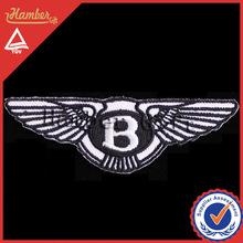 venta caliente logotipo personalizado bordado parches