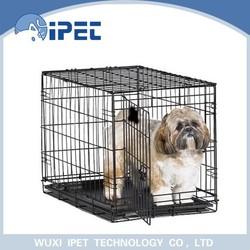 China Black pet display cage with metal bottom