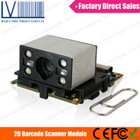 LV2028 2D Barcode Scanner Module, Taking 200 Scans Per Second at 5V Power for Data Terminals