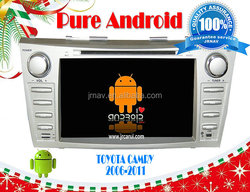 Android 4.2 double din for Toyota Camry (2006-2011),Capacitive and multi-touch screen support OBD
